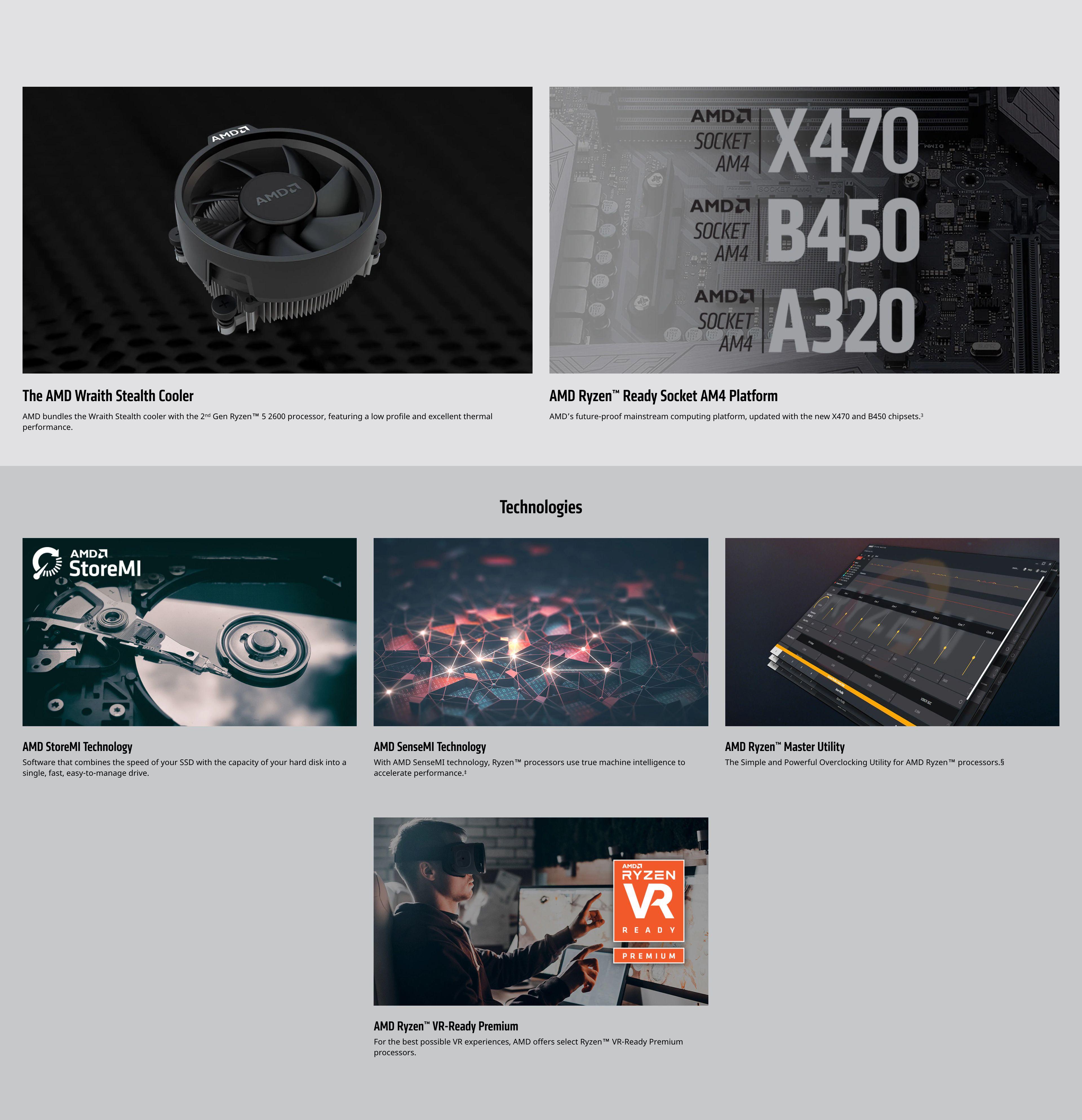 AMD Ryzen™ 5 2600