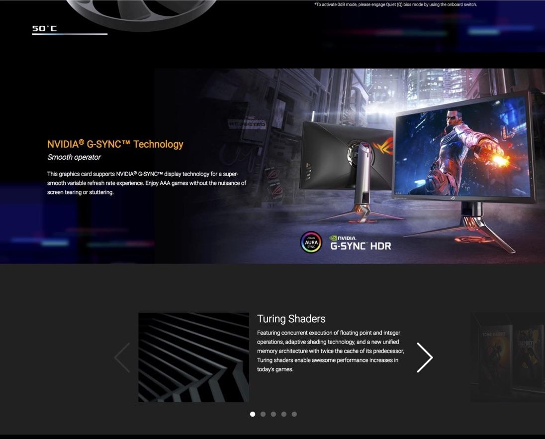 ASUS ROG Strix GTX1660Ti-O6G-Gaming